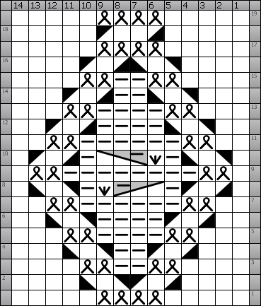 Intwined pattern studio sample chart and document ccuart Gallery